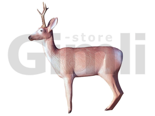 Eleven 3D Deer Dark with Horns