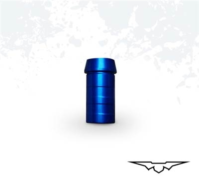 Black Eagle PS23 Blue Anodized Standard-Nock Bushing, 12 stk.